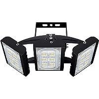CHICLUX 90W Projecteur LED extérieur pour Garage, 8100LM, 6000K (éclairage Blanc lumière du Jour) Projecteur de sécurité…