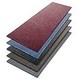 Teppich / Läufer in zahlreichen Größen | beige, gepunktet | Qualitätsprodukt aus Deutschland | Teppichläufer mit GUT Siegel | Küchenläufer, Flurläufer (100x300 cm)
