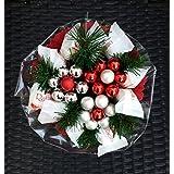 Weihnachtsgeschenk, Pralinen Strauß