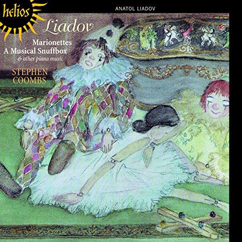 Musik für Klavier Solo/ Marionettes/ A Musical Snuffbox - Klavier Liadov