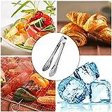 """soxid (TM) accesorios de cocina herramientas multifuncional de 5""""Pan abrazadera acero inoxidable barbacoa barbacoa frutas verduras carne y alimentos clip"""