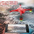 GoolRC 2.4G 4CH 1080P HD Camera Drone FPV Brushless GPS RC Quadcopter Altitude Hold 15-Minutes of Flying Time