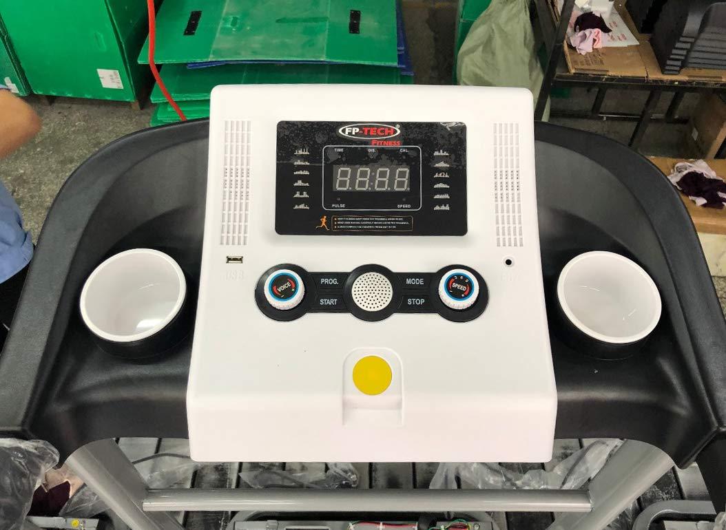 Tapis ROULANT Elettrico 1 HP 1000W Top di Gamma con Bluetooth ED App Lettore MP3 E USB 5 spesavip