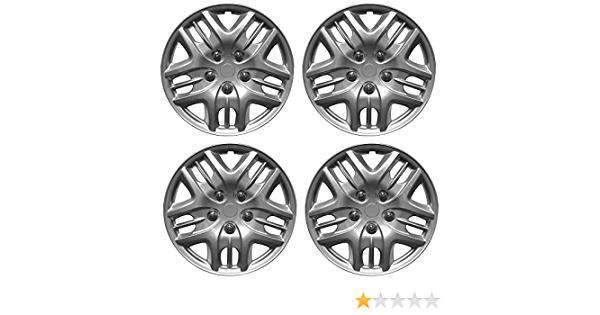 CITROEN C4 PICASSO Car Wheel Trims Hub Caps Plastic Covers Phantom 15 Silver