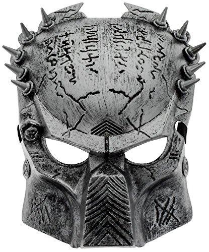 ilber Schock Maske (Predator Halloween-maske)