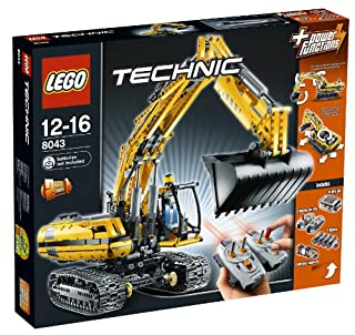 LEGO Technic 8043 - Motorisierter Raupenbagger (B003A2JBW8) | Amazon price tracker / tracking, Amazon price history charts, Amazon price watches, Amazon price drop alerts