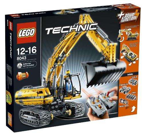 Preisvergleich Produktbild Lego Technic 8043 - Motorisierter Raupenbagger