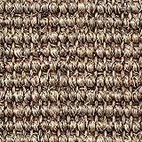 Teppichboden Auslegware | Sisal Naturfaser Schlinge | 400 cm Breite | grau beige | Meterware, verschiedene Größen | Größe: 3 x 4m