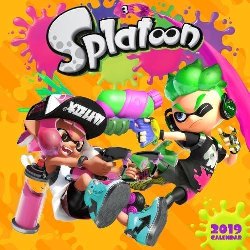Splatoon 2019 Wall Calendar