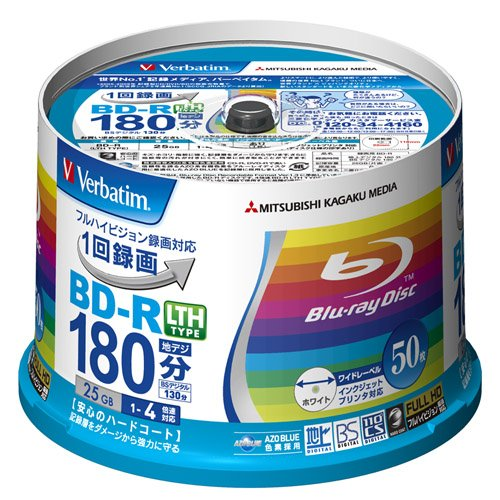 Verbatim Mitsubishi 25GB 4x Speed BD-R Blu-ray