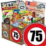 Geschenkbox | Geburtstag 75 | DDR Geschenke Mutti | 24er Allerlei