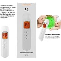 Katherinabait Termometro Frontale  Letture istantanee Accurate  Termometro Digitale a infrarossi Professionale Senza Contatto  per Neonati  Bambini  Adulti