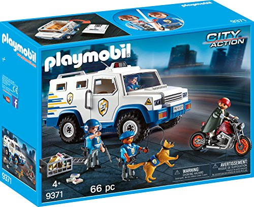PLAYMOBIL 9371 - Geldtransporter-9371 (2017-12-08)