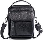 Belt Pouch Bag Genuine Leather Men Travel Belt Bag Small Wallet Purse With Shoulder Strap Waist Bag Crossbody Bag