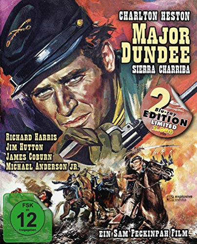 Major Dundee - Sierra Charriba (Major Dundee) (Mediabook, 2 Blu-rays)