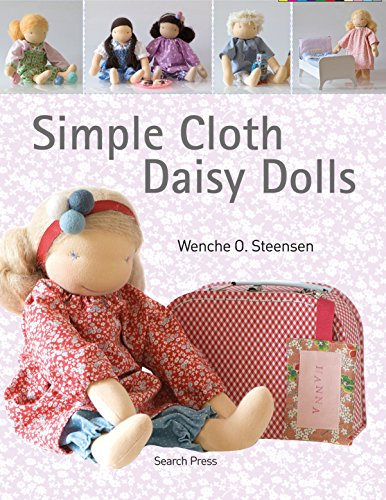 Simple Cloth Daisy Dolls (English Edition) -