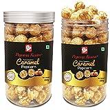 Popcorn Fusion Pure Essence Caramel Popcorn Jar (Pack of 2)- 300 gms