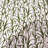 Stoff Baumwollstoff Schneeglöckchen Blumen Snödroppar weiß Schweden skandinavisch Landhaus