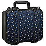 Skin Decal for Pelican 1400 Case/Diamond Plate Aged Steel