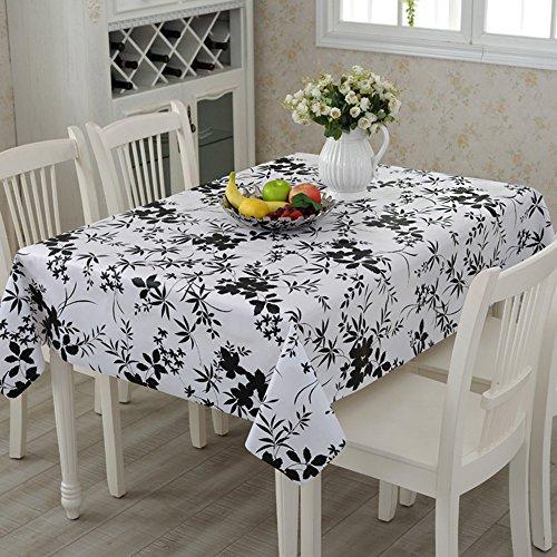 Flashing- Pastoral Style PVC Nappe Imperméable À L'eau Salon Table Basse Four Seasons Table À Manger Table Mat ( taille : 138*180cm )