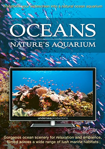 Oceans: Nature's Aquarium DVD [nature video for relaxation, ambience, and education] [UK Import] Jensen Marine Tv