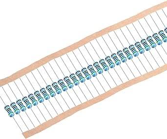 sourcing map 1//2 watt 680 Ohm resistori a pellicola metallica 0,5W 100 pz