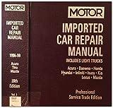 Image de Motor Imported Car Repair Manual: 1