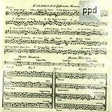 Servietten Adagio - Schönes Geschenk für Musiker