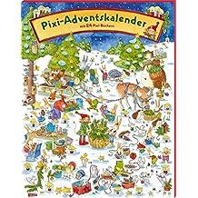 Pixi Adventskalender 2019: Adventskalender mit 22 Pixi-Büchern und 2 Maxi-Pixi