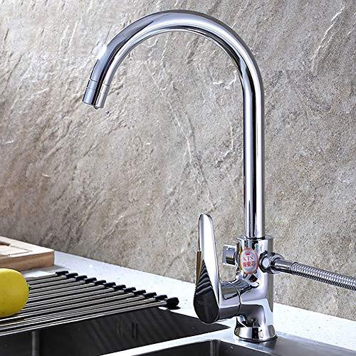 Preisvergleich Produktbild Gyy-tap Edelstahl Küchenbecken Wasserhahn,  bleifreie Küchenbecken Wasserhähne Spülmaschinenhahn Wäscheservice Zähler Wäscheservice Pool Multi-Funktions-Küchenarmatur