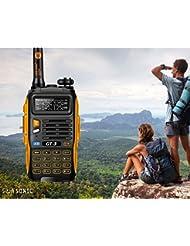 Baofeng GT-3 - Walkie-talkie Dual Band DTMF RX CTCSS/DCS OACO, radio de 2 vías