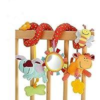 StillCool Bambino Passeggino Giocattoli, Passeggino giocattolo e attività Clip a spirale su carrozzina e passeggino con…