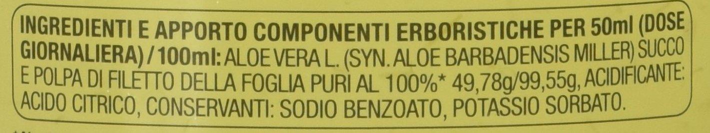 Zuccari Aloevera 2 Succo Puro d'Aloe, 1000 ml 3 spesavip