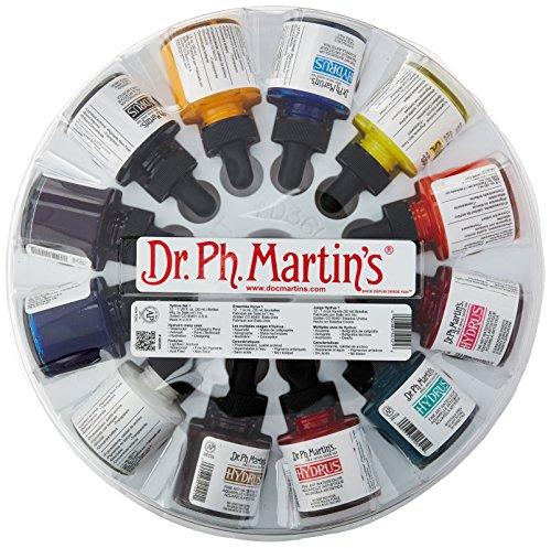 dr-ph-martins-hydrus-fine-art-watercolor-bottles-10-oz-set-of-12-set-1-by-dr-ph-martins