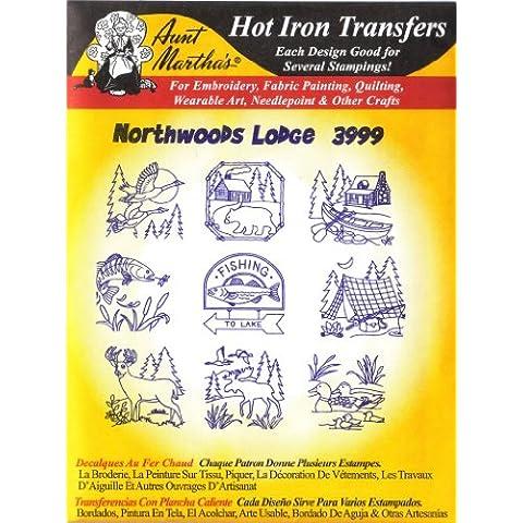Northwoods Lodge Aunt Martha's Hot Iron Embroidery