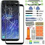 Acenix Ersatzdisplay für Samsung Galaxy S8 Plus, inkl. UV-Kleber und Öffnungswerkzeug