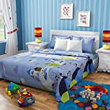 Rago Kids Abstract Blue And white Double...