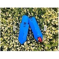 LridSu Bicicleta para niños Delanteras Delanteras Guardabarros Guardabarros Bicicleta de montaña (Azul)