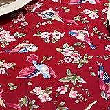 SCLOTHS Mantel de algodón clásico simple decoración de la Mesa de Comedor 140*200cm