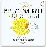 MILLAS KRITZEL MALBUCH - Mach es Fertig!: Kreatives kritzeln ab 2 Jahren (Malbuch Kinder) (PAPERISH® Kinderbücher)