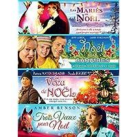 Coffret Noël : Les mariés de Noël + Noël aux Caraïbes + Le Voeu de Noël + Trois voeux pour Noël