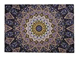 Wandteppich Wandbehang Indisch Wandtuch Mandala Hippie Teppich Tagesdecke Mandala Tuch Wand Strandtuch Indische Tücher Indisches Wandbehänge Wandtücher Tagesdecken Indien Wandteppiche 150CM X 150CM