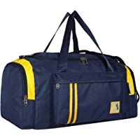 MEDLER APRICATOR 40L Nylon Water Resistant Travel Duffle Bag - Navy Blue
