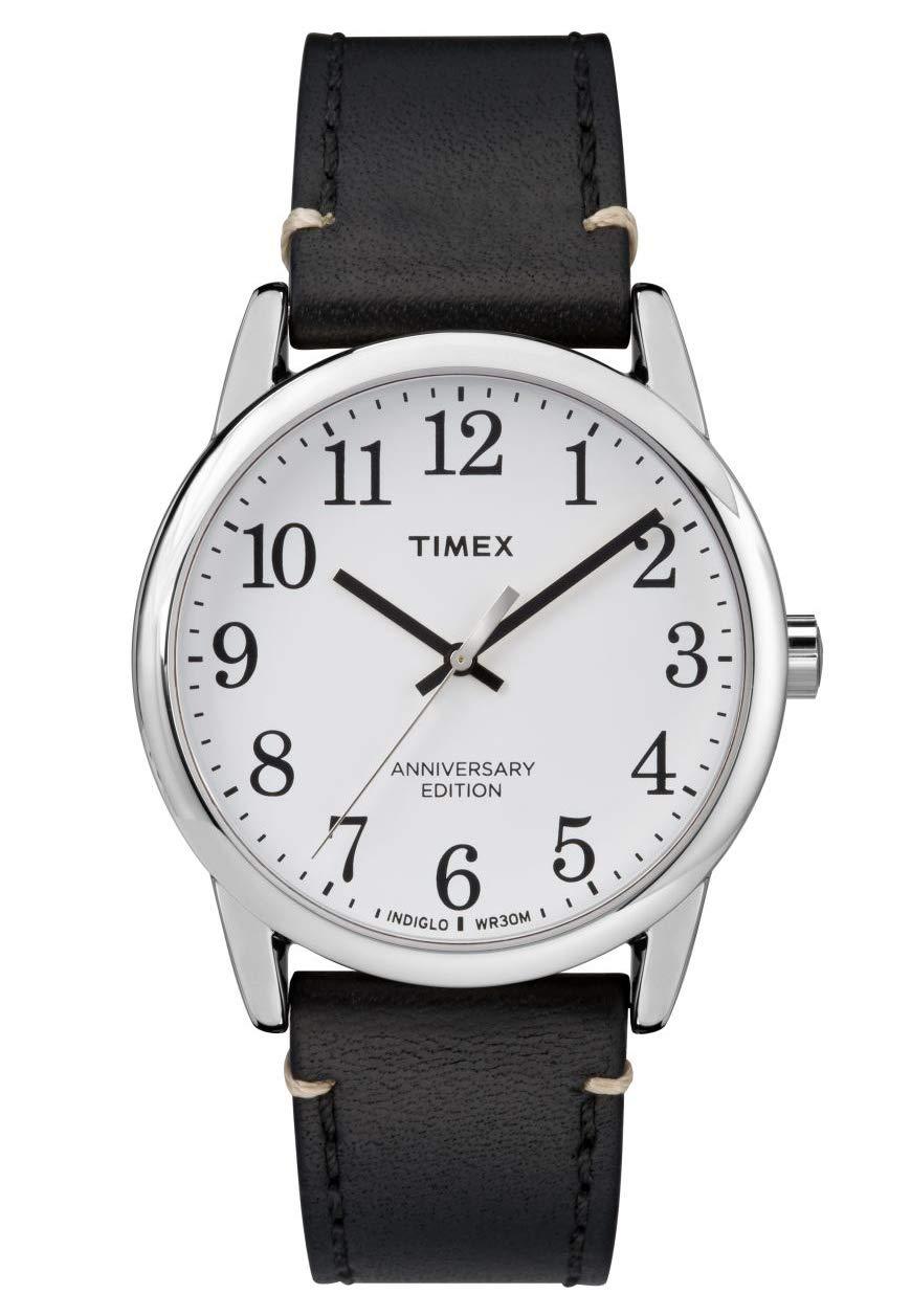 Timex Mens Analogue Quartz Watch Easy Reader