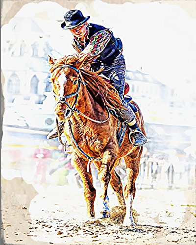 Horse Notebook: College Ruled - Lined Journal - Composition Notebook - Soft Cover Writer's Notebook or Journal for School  - College or Work -  Endurance Horse Race por Simple Planners and Journals