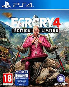 far cry 4 dition limit e sony playstation 4. Black Bedroom Furniture Sets. Home Design Ideas