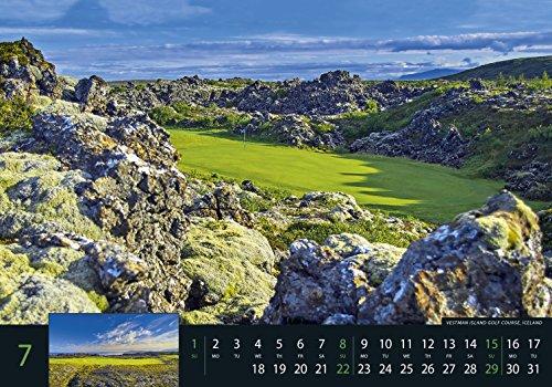 Golf 2018 - Sportkalender / Golfkalender international (49 x 34) - 9