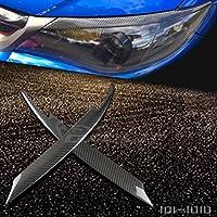 Fibra di carbonio sopracciglia palpebra per Subaru Impreza WRX STI X 10GRB JDM 2008–2011