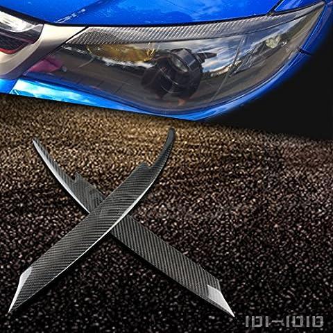 Fibre de carbone sourcils Paupière Pour Subaru