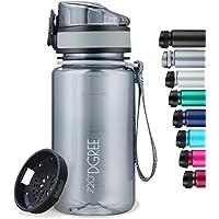 """720°DGREE Trinkflasche """"uberBottle"""" softTouch +Sieb - 350ml, 500ml, 650ml, 1000ml, 1,5l - BPA-Frei - Wasserflasche für…"""